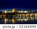 夜景 プラハ プラハ城の写真 33164898