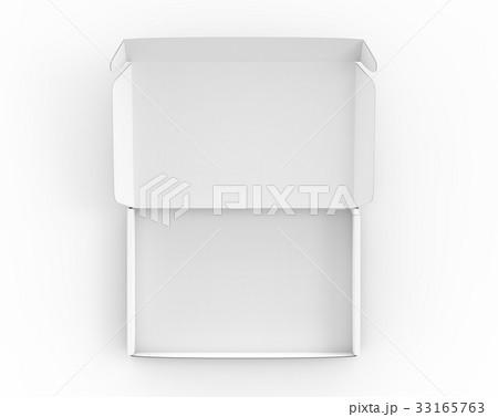 Blank tuck top box mockup 33165763
