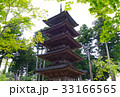 【重要文化財・佐渡島観光名所】妙宣寺 五重塔 33166565