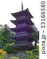 【重要文化財・佐渡島観光名所】妙宣寺 五重塔 33166580