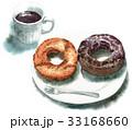 コーヒーとドーナツ 33168660