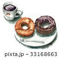 コーヒーとドーナツ 33168663