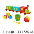 おもちゃ 玩具 遊び道具のイラスト 33172018