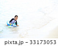 海水浴を楽しむ子ども 33173053