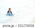 海水浴を楽しむ子ども 33173058