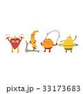くだもの フルーツ 実のイラスト 33173683