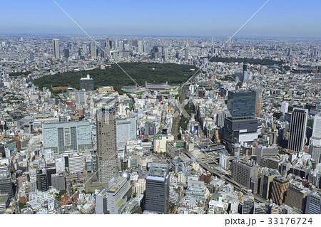渋谷駅上空/空撮 33176724
