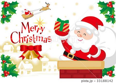 クリスマスカード 33188142