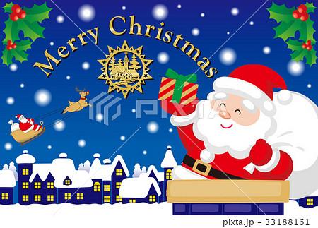 クリスマスカード 33188161