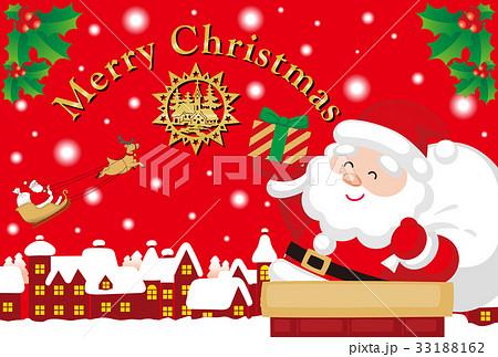 クリスマスカード 33188162