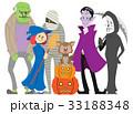 ハロウィーンキャラクターズ 33188348