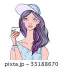 ぶどう酒 ワイン 葡萄酒のイラスト 33188670