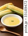 コーンスープ コーンポタージュ ポタージュの写真 33189472