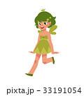 Vector fairy girl, fantasy illustration isolated 33191054
