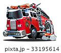 消防車 ベクトル 四輪車のイラスト 33195614