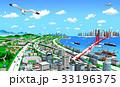 海辺の町と交通1 33196375