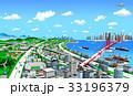 海辺の町と交通2 33196379
