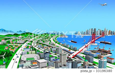 海辺の町と交通3 33196380