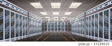 Data Center Room Hosting Server Computer 33199010