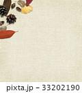 背景-秋-落ち葉-木の実 33202190