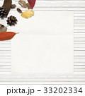 背景-秋-落ち葉-木の実 33202334