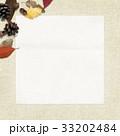 背景-秋-落ち葉-木の実 33202484
