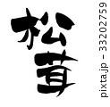 筆文字 漢字 文字のイラスト 33202759