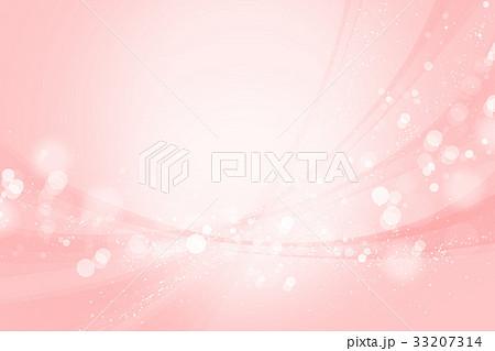 ピンクのボケ 光と曲線 背景 33207314
