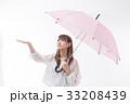 梅雨 傘 雨の写真 33208439