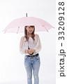 梅雨 傘 雨の写真 33209128