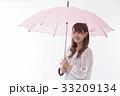 梅雨 傘 雨の写真 33209134