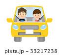 夫婦 カップル 自動車のイラスト 33217238