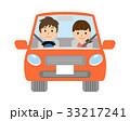 カップル 男女 自動車のイラスト 33217241