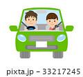 夫婦 カップル 自動車のイラスト 33217245