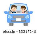 夫婦 カップル 自動車のイラスト 33217248