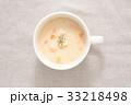 スープ 汁物 クラムチャウダーの写真 33218498