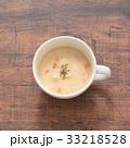 スープ 汁物 クラムチャウダーの写真 33218528