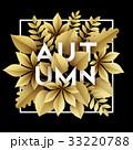 あき 秋 背景のイラスト 33220788