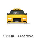 タクシー 空車 ベクタのイラスト 33227692