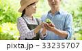 農業 ミドル 夫婦 環境 エコ イメージ 33235707