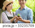 農業 ミドル 夫婦 環境 エコ イメージ 33235709