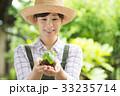 農業  女性 環境 エコ イメージ 33235714