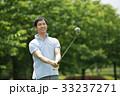 ゴルフ ミドル 男性 スポーツ ゴルフ場 イメージ 33237271