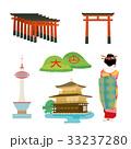 京都 イラスト セット 33237280