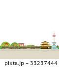 京都 風景 イラスト 33237444