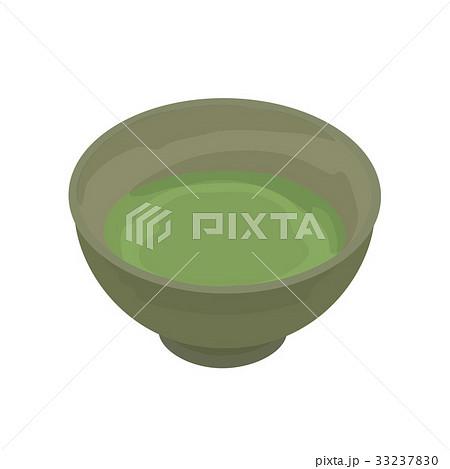 抹茶 イラストのイラスト素材 33237830 Pixta
