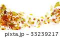 紅葉 銀杏 秋のイラスト 33239217