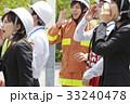 社会人 防災訓練 消防士の写真 33240478
