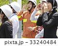 社会人 防災訓練 消防士の写真 33240484