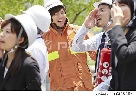 消火訓練 33240487